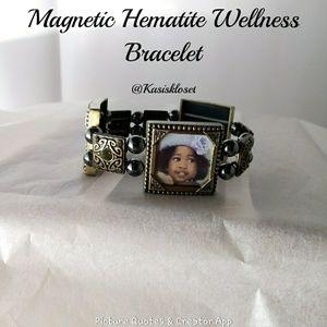 🎈4/$20🎈Hematite Wellness Magnetic Bracelet